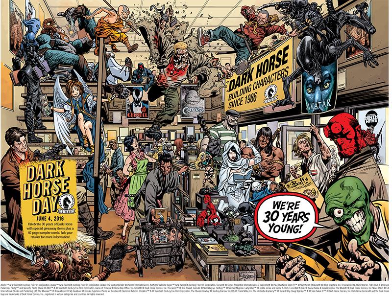 Dark Horse Comic Book Day – The Exchange District BIZ