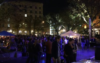 Nuit Blanche in the Exchange!