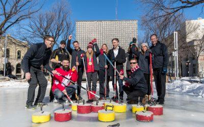 The Biz vs Mayor Bowman and his team of Olympians