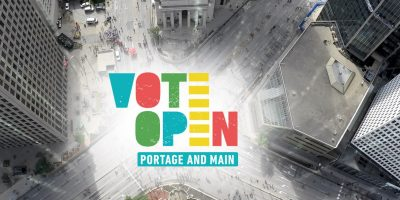 Exchange District BIZ Supports Yes Campaign to Re-open Portage and Main for Pedestrians