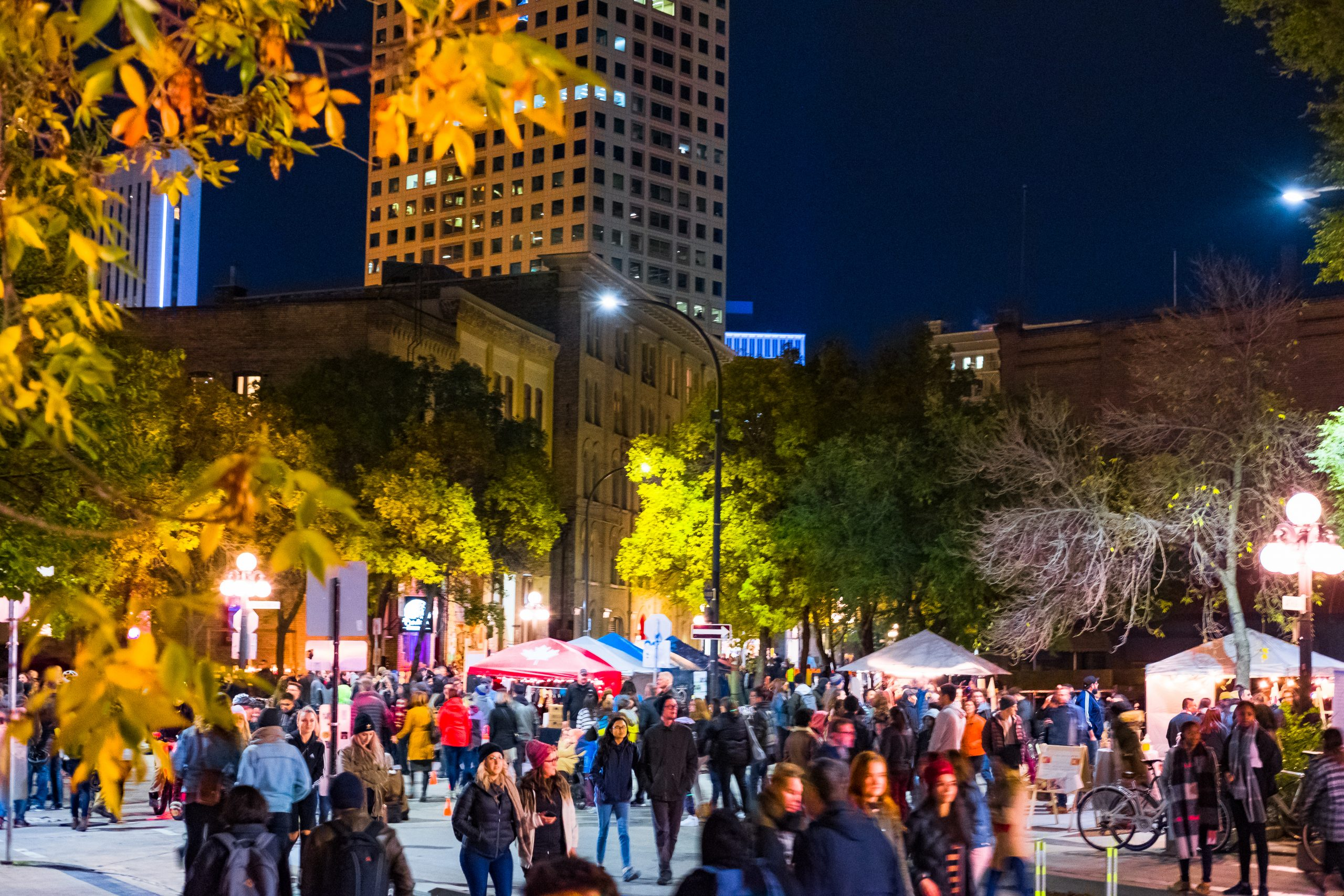 Old Market Square - Nuit Blanche 2019