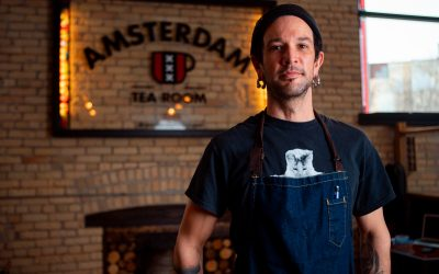 Chef Aron Epp: Transforming Traditional Dutch Dishes at Amsterdam Tea Room