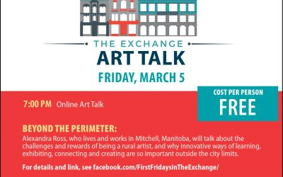 First Fridays in the Exchange Free Online Art Talk:  BEYOND THE PERIMETER