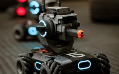 Portal Bots Laser Tag Battle
